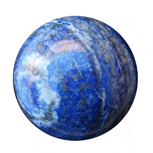 Lapis Lazuli Fortune Telling Ball Scrying Crystal Sphere 55mm 270g (LB3)